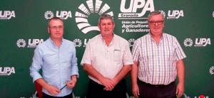 Dirigentes de UPA han ofrecido una rueda de prensa.