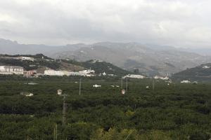 Valle del río Verde, en Almuñécar.