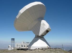 Radiotelescopio de Sierra Nevada.