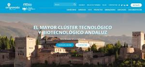 Captura de pantalla de la nueva web.