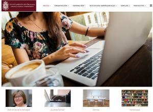 Nueva web de empleo del Ayuntamiento de Granada.