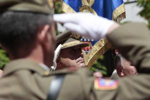 El teniente general Alfredo Ramírez presidió la ceremonia.