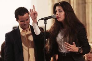 Soleá Morente y Juan Pinilla impresionan con sus voces.