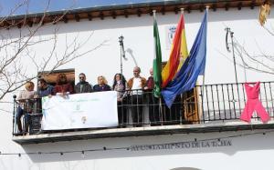 Representantes de municipios alpujarreños, en el Ayuntamiento de la Taha.