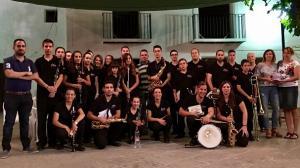 Banda de la asociación Amigos de la Música de Bubión.