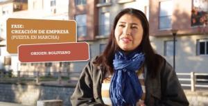 Una de las emprendedoras cuentan su caso en un vídeo.
