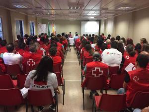 Un momento del encuentro provincial de Cruz Roja.