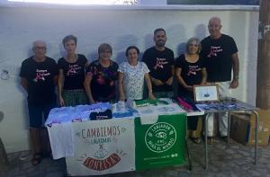 Promotores del mercado solidario.