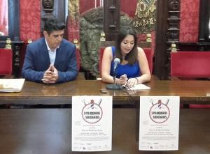 Presentación de la iniciativa 'Peluqueros Solidarios'.