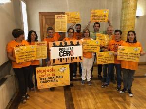 Presentación de la campaña Pobreza Cero.