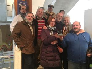 Foto de familia tras la celebración del acto.