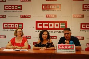 CCOO ha presentado este jueves el estudio.