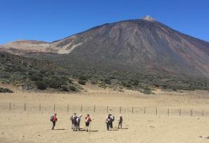 Camino del Teide, el pico más alto de España.