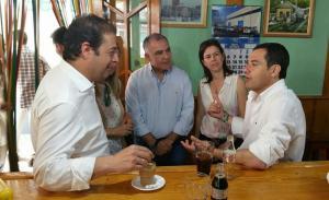 Juanma Moreno ha respaldado este fin de semana a los candidatos granadinos.