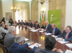 Reunión en Jaén.