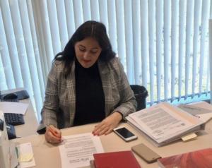 Alejandra Durán firma la iniciativa.