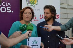 María del Carmen Pérez y José Moreno.