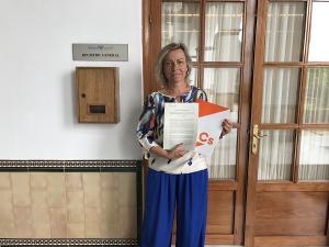 La parlamentaria de Cs Isabel Albás.