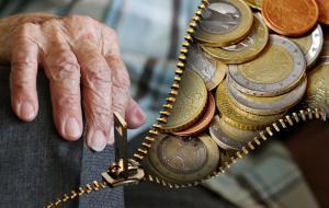 Las pensiones solo suben un 0,25%.