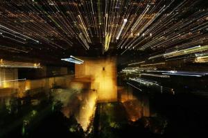 Espectacular imagen de la Alhambra, que centra la campaña electoral.