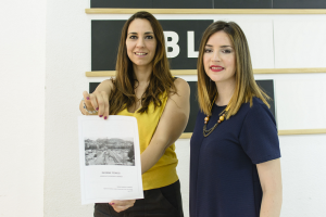 Amanda Rodríguez y Ana Terrón.