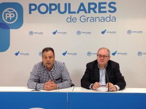 Antonio Ayllón y Mariano Molina.