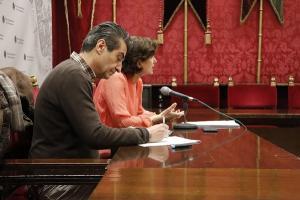 Antonio Cambril y Elisa Cabrerizo.