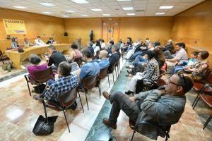 Asamblea de Vamos Granada en el Palacio de Congresos.