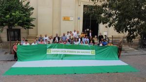 Acto celebrado en Sevilla.