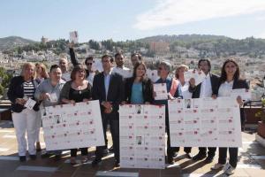 Cuenca junto a parte de su candidatura.