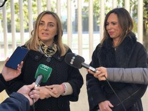 Marifrán Carazo y Rocío Díaz.