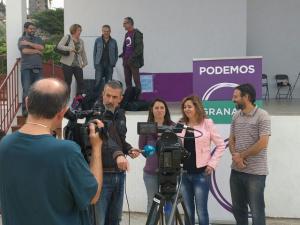 Lizárraga con Gutiérrez y Matarán.