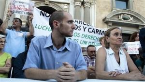 Carmen Bajo y Carlos Cano.