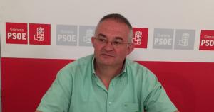 El secretario general del PSOE de la capital, José María Rueda.