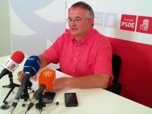 José María Rueda, en una comparecencia ante los medios.