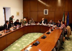 Imagen de una de las reuniones de la comisión, en enero.