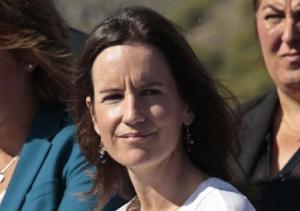 La diputada nacional Concha de Santa Ana.