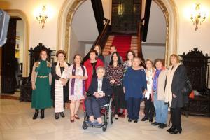 La Subdelegación ha acogido este lunes la conferencia homenaje, a la que han asistido diez de las once mujeres reconocidas.