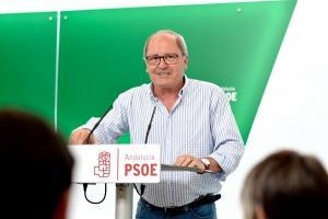 Juan Cornejo en rueda de prensa.