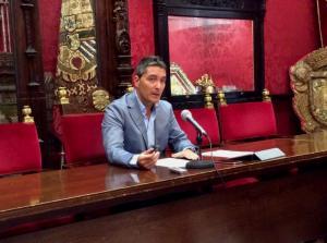 El concejal Manuel Olivares.