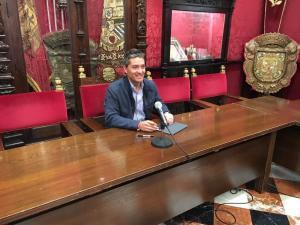 Manuel Olivares, en rueda de prensa.