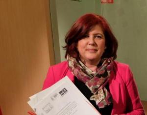 La diputada socialista por Granada Elvira Ramón.