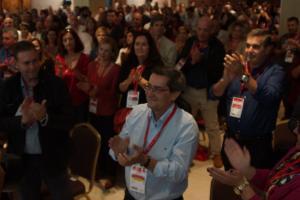 José Entrena, en el XXV Congreso Provincial.