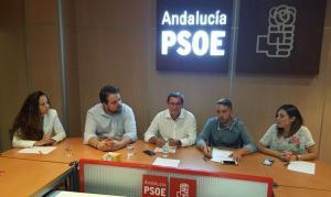José Entrena, en un encuentro con Juventudes Socialistas.