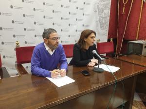 Miguel Ángel Fernández Madrid y Raquel Ruz.