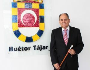 Fernando Delgado, alcalde de Huétor Tájar.