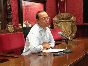 Fernando Egea, concejal del PP.