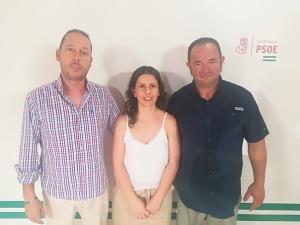 Miembros del PSOE de Diezma.