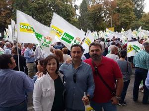 El PSOE ha respaldado la manifestación de Madrid.