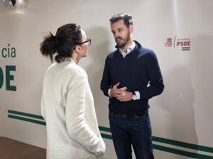 Juan José Martín Arcos, este lunes tras la rueda de prensa.